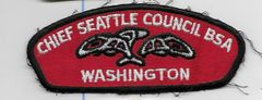 Boy Scout patch Chief Seattle Council