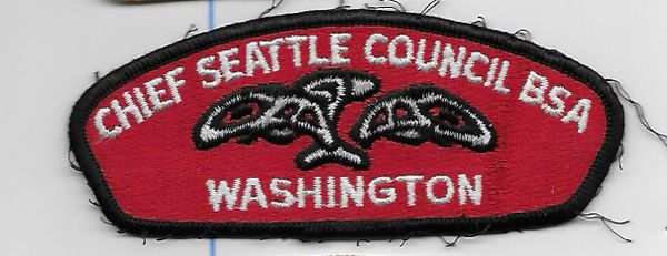 Boy Scout patch Chief Seattle Council
