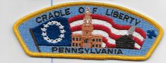 "Boy Scout patch Pennsylvania Council ""Cradle of Liberty"