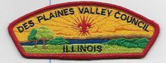 Boy Scout patch Des Plaines Valley Council