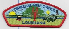 Boy Scout patch Evangeline Area Council