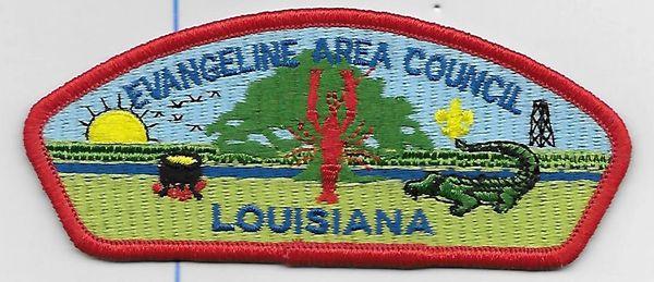 Boy Scout patch Evangeline Area Council