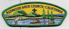 Boy Scout patch Redwood Area Council California
