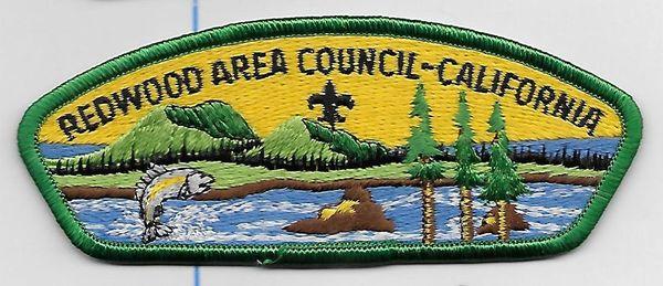 Boy Scout patch Redwood Area Council California