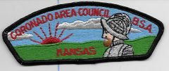 Boy Scout patch Coronado Area Council Kansas