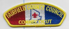 Boy Scout patch Fairfield County Coucil Connecticut