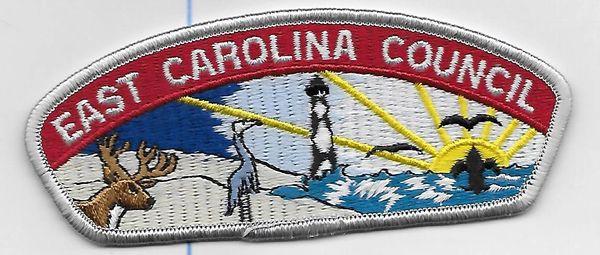 Boy Scout patch East Carolina Coucil