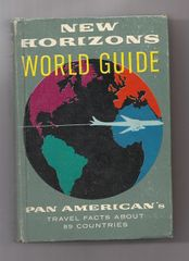 Pan Am New Horizons World Guide 1958 Edition