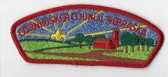 Boy Scout patch Cornhusker Council Nebraska