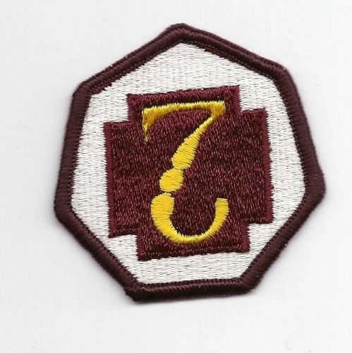7th Medical Command patch