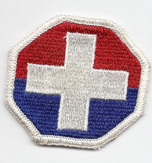US Army Medical Command Korea patch
