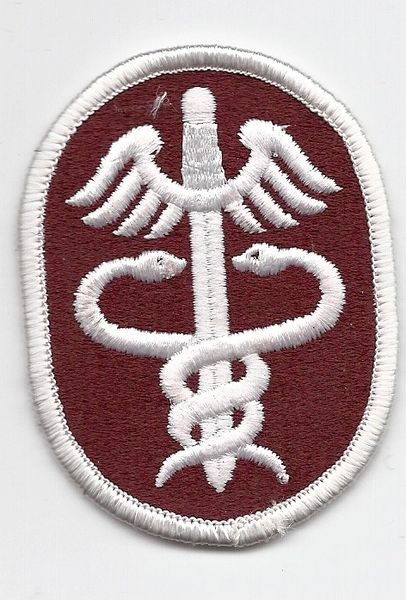 US Army Health Services Command patch