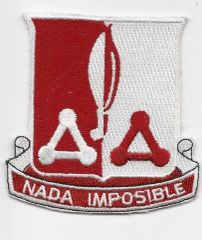871st Engineering Battalion patch