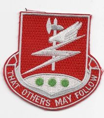 127th Engineering Battalion patch