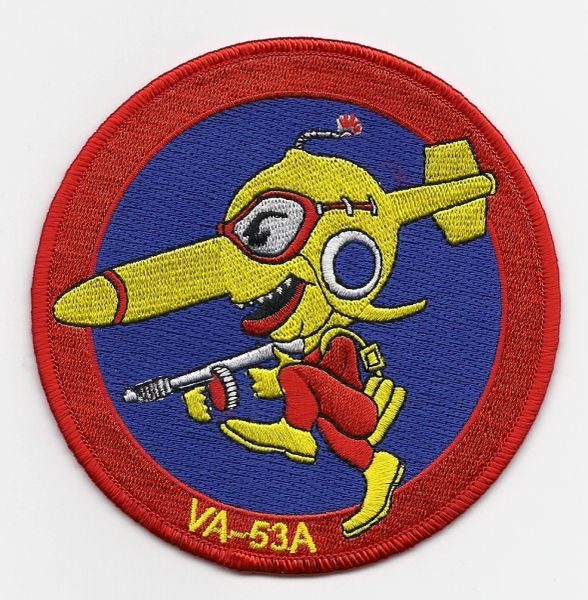 US Navy Attack Squadron VA-53A patch