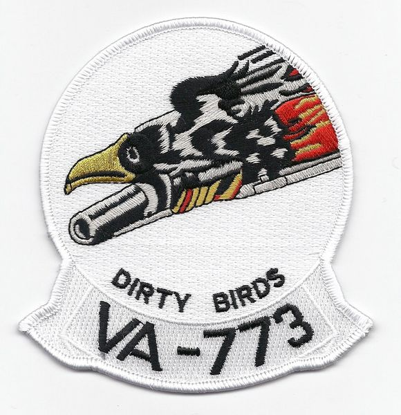 "US Navy Attack Squadron VA-773 ""Dirty Birds"" patch"