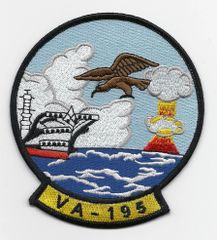 US Navy Attack Squadron VA-195 patch