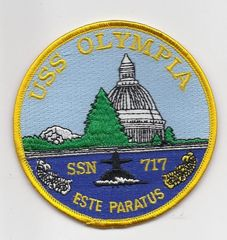 USS Olympia SSN-717 patch