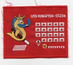 USS Kingfish SS-234 patch
