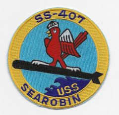 USS Sea Robin SS-407 patch