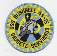 Submarine Tender USS Bushnell AS-15 patch