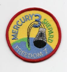 Mercury 3 patch. (Alan Shepard) - Freedom 7