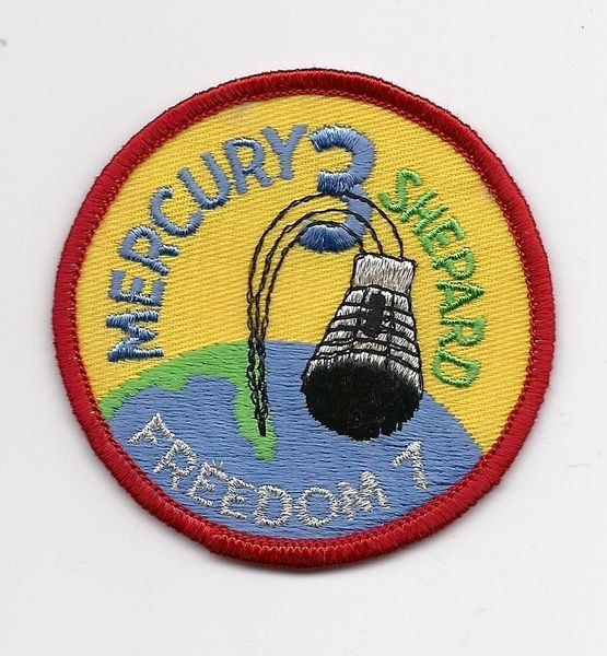 Mercury 3 patch. (Alan Shepard) - Freedom 7