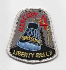 Mercury 4 patch. (Gus Grissom) - Liberty Bell 7