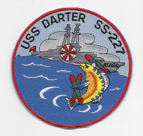US Navy Submarine USS Darter SS-227 patch