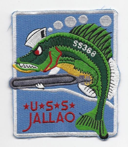 US Navy Submarine USS Jallao SS-368 patch