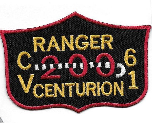 USS Ranger 200 Centurion Cruise patch