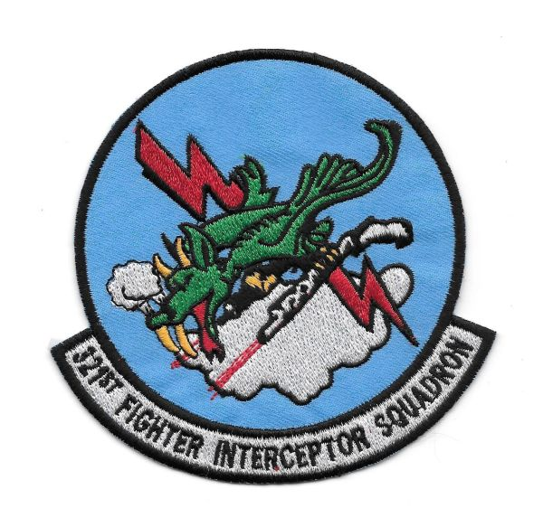 USAF 321st Fighter Interceptor Squadron patch