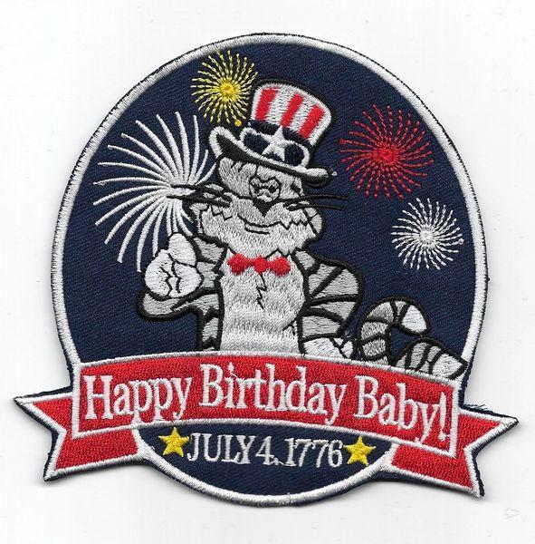 "US Navy F-14 Tomcat ""Happy Birthday Baby!"" patch"