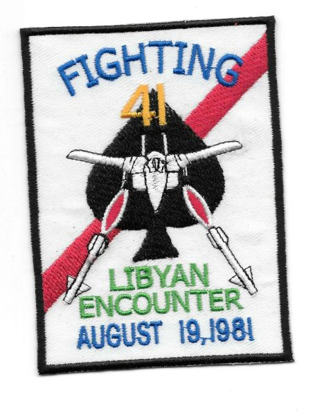"VF-41 Black Aces ""Libyan Encounter"" patch"