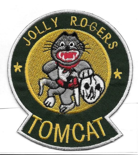 "F-14 Tomcat ""Jolly Rogers"" patch"