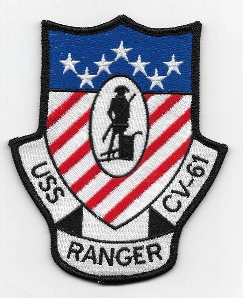 USS Ranger CV-61 patch