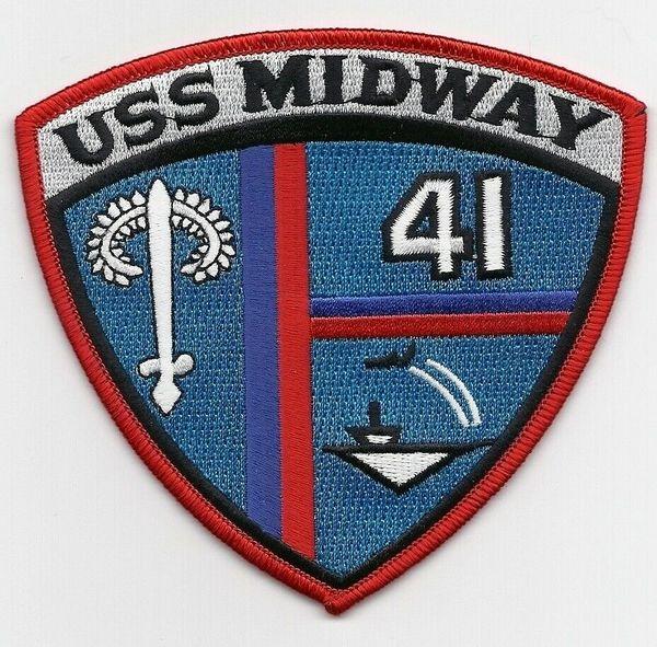 USS Midway CV-41 patch