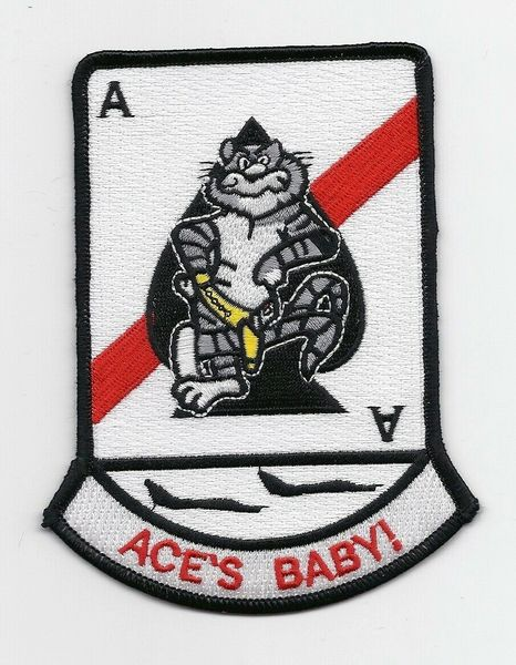 "VF-41 ""Aces Baby"" F-14 Tomcat patch"
