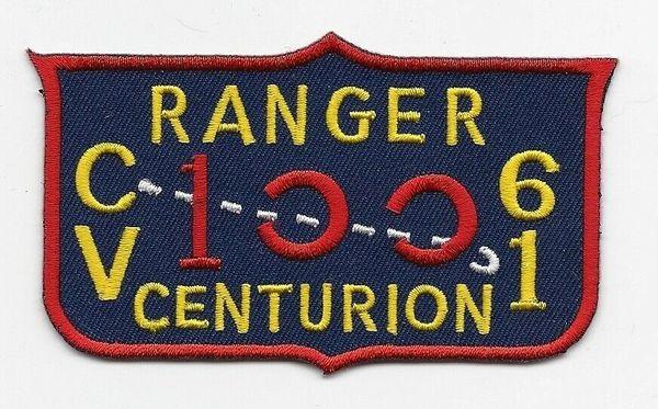 """USS Ranger CV-61 """"Centurion"""" patch"""