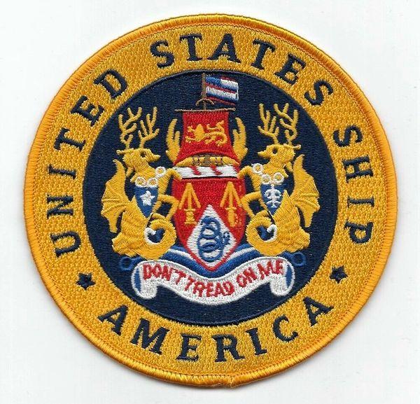 USS America CV-66 patch