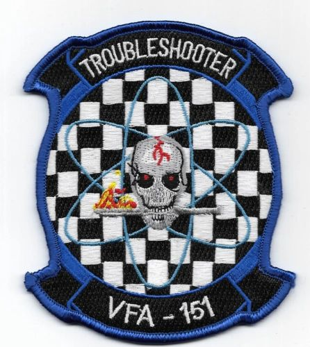"US Navy Fighter Squadron VFA-151 ""Troubleshooter"" patch"