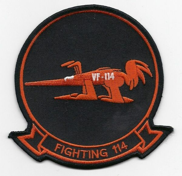 "US Navy Fighter Squadron VF-114 ""Aardvark"" patch"
