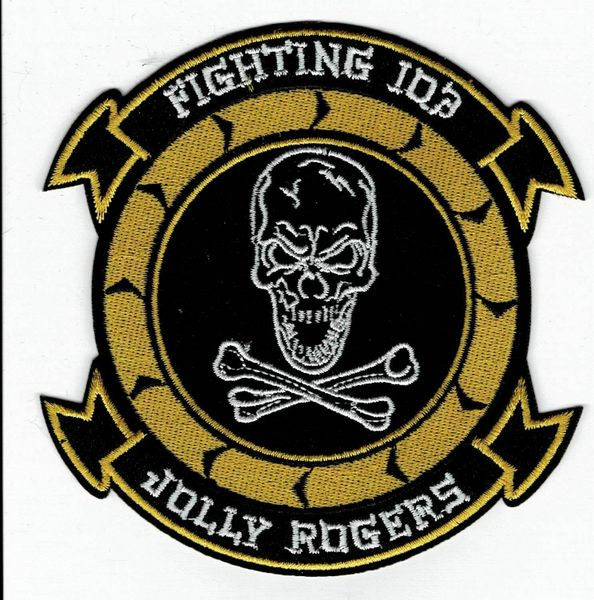 "US Navy Jolly Rogers ""Fighting 103"" Fighter Squadron patch"