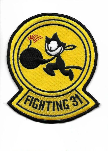 "Large VF-31 ""Fighting 31"" Felix Patch"