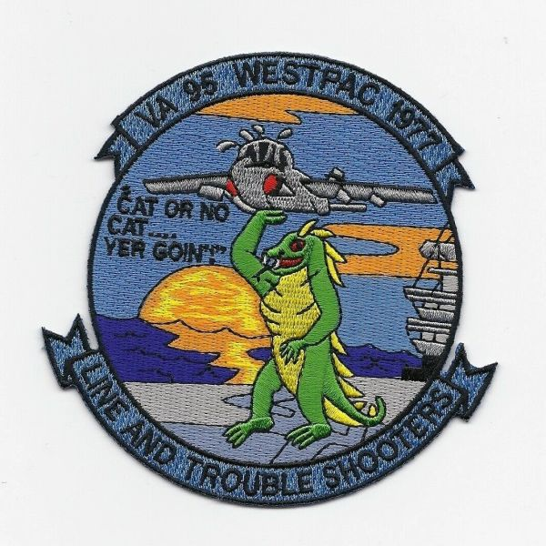 "US Navy Attack Squadron VA-96 ""Westpac 1977"" patch"