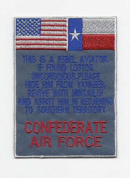 Confederate Air Force shoulder patch (Texas flag variant)