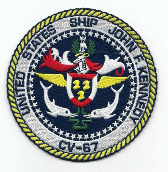 USS John F Kennedy CV-67 patch