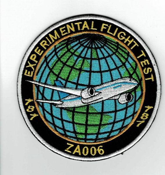 Rare 787 Flight Test patch.