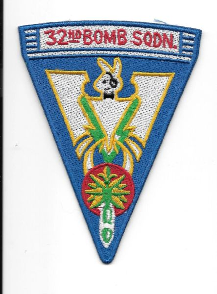 USAF 32nd Bomb Squadron patch.