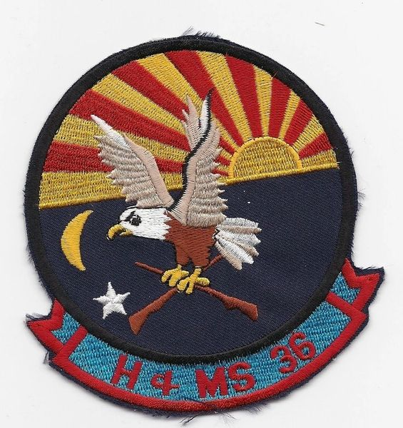 Marine Corps H&MS-36 Squadron patch